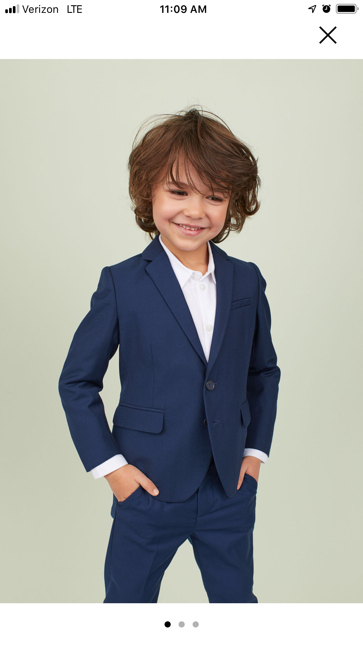 Boys Navy Suit Paisley of London Communion Suit 6-14 Years