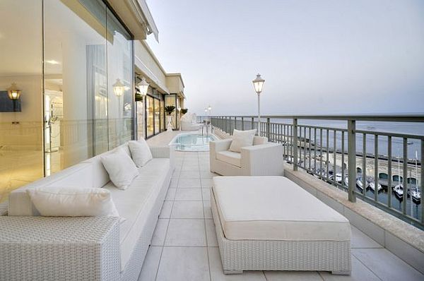 Charmant Luxury Penthouse Patio Furniture Balcony