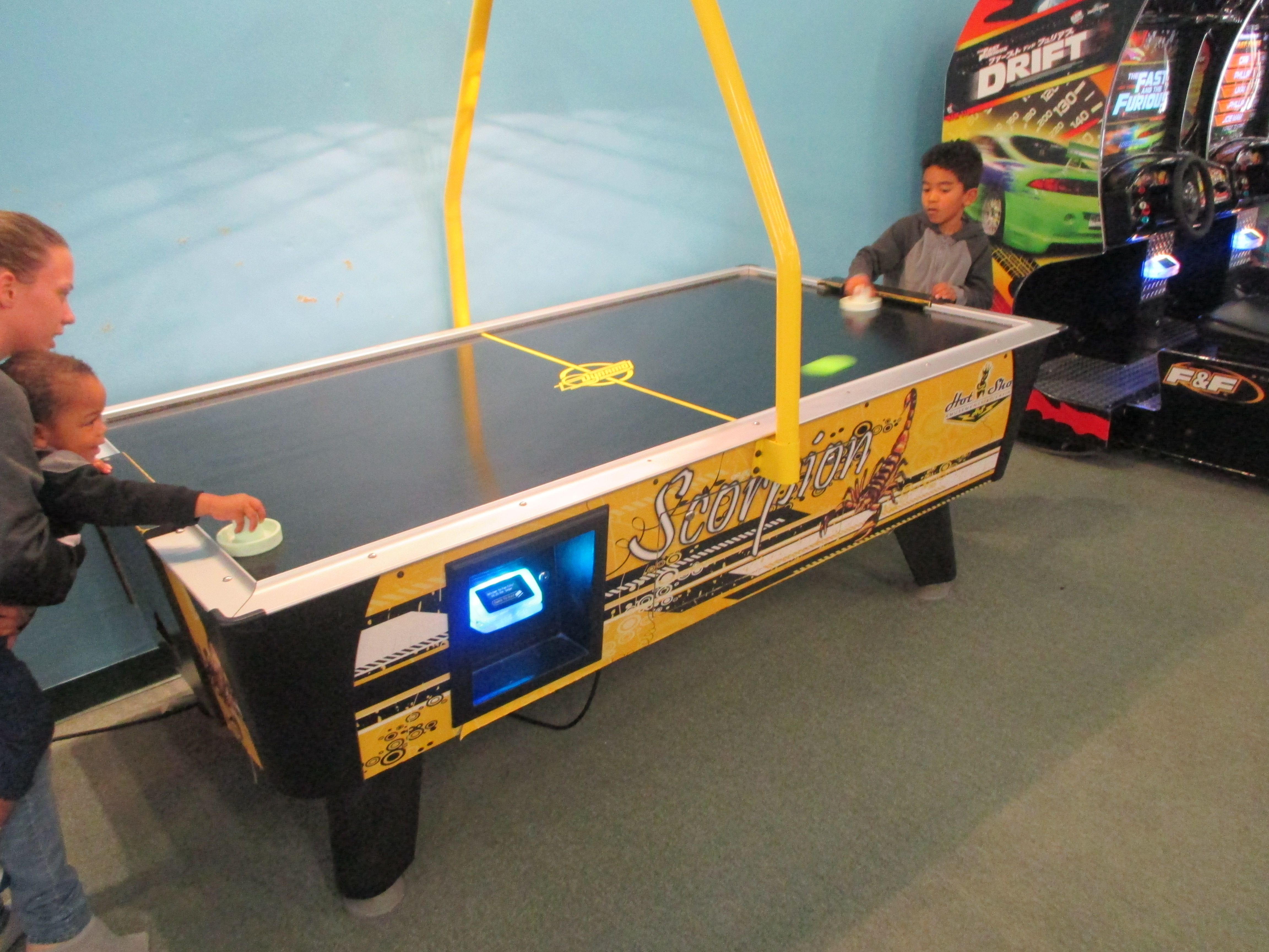 Come Out To Fun City Enjoy Our Arcade And We Also Have Unlimited Bounce Play You Can Great Laser Tag Arena Too