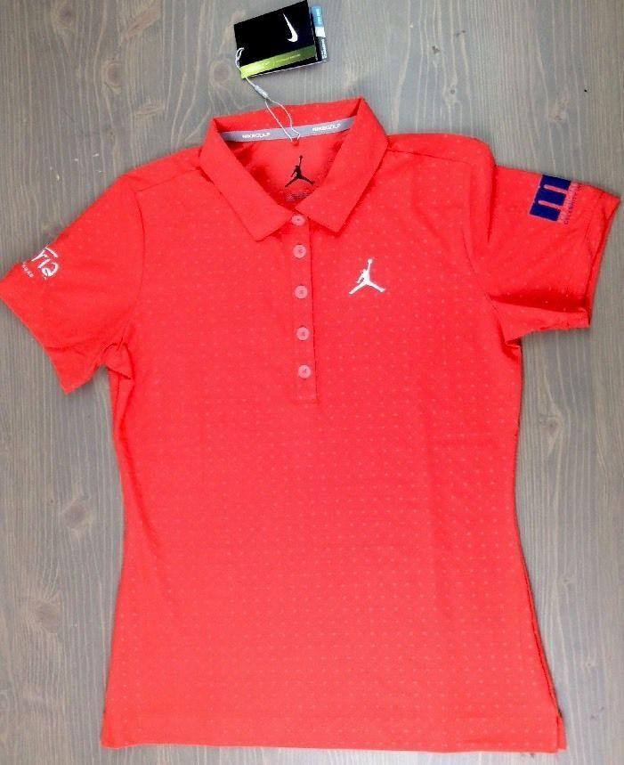 afab2d08cb3 Nike Golf Polo Small Michael Jordan Celeb Invitational Aria Las Vegas Red  NWT | Clothing, Shoes & Accessories, Women's Clothing, Athletic Apparel |  eBay!