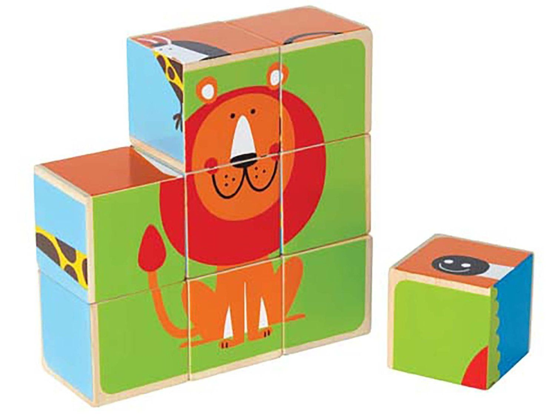 Buy Hape - Zoo Animal Block Puzzle