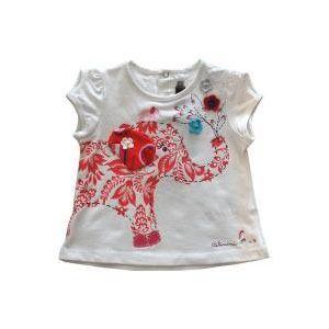 elephant tee - appliqué-able w/ button embellishments? Jeans/capris w/ matching fabric?