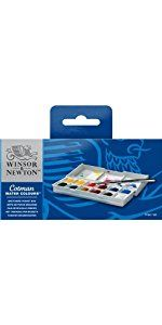 Winsor Newton Cotman Aquarellfarbe Sketchers Pocket Box 12 Halbe