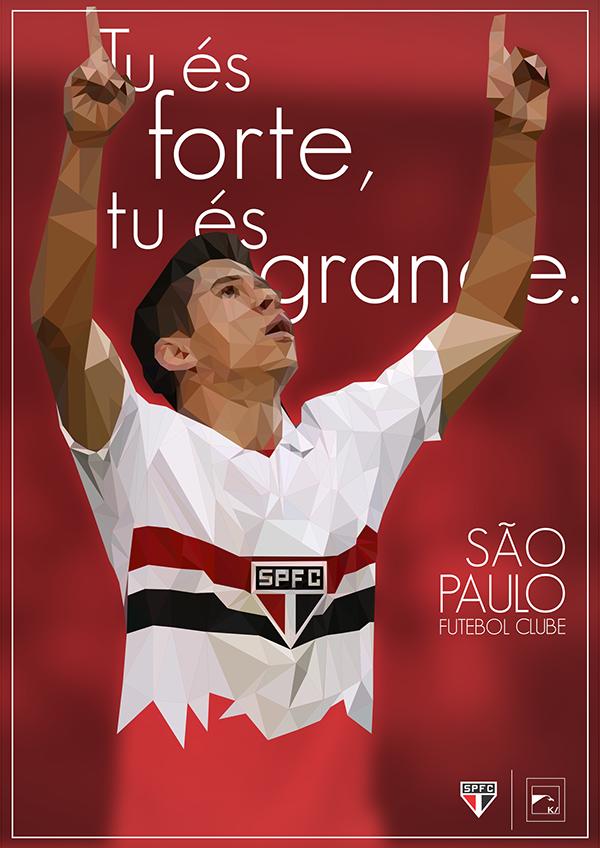 Frases Do Hino Tricolor São Paulo Fc On Behance São