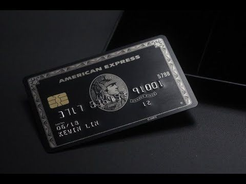 The Black Card American Express Centurion Card Replica Youtube American Express Black Card Credit Card Design Black Card