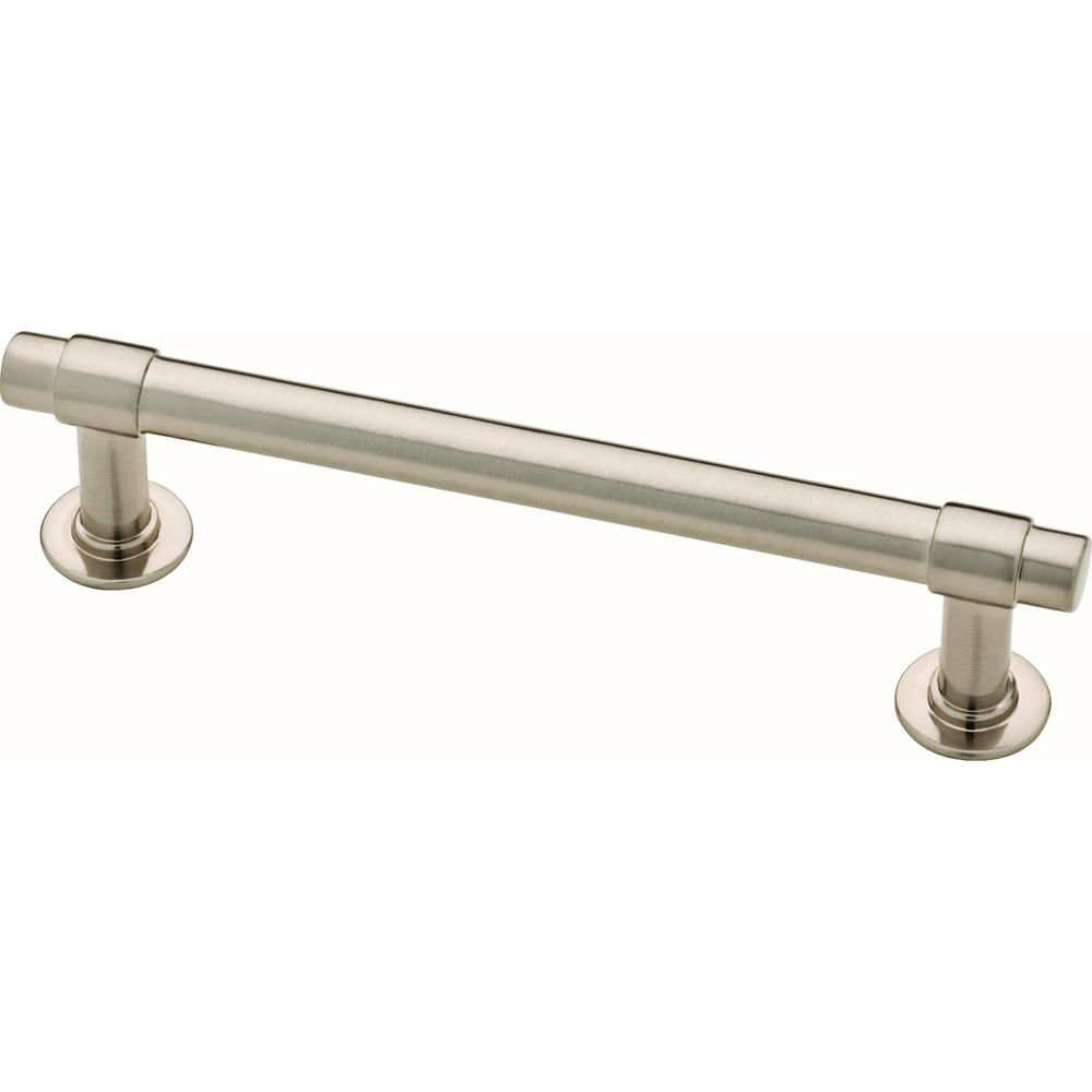 Liberty Essentials Francisco 4 In 102mm Center To Center Satin Nickel Drawer Pull 10 Pack P29617k Sn B Drawer Pulls Satin Nickel Pulls Satin Nickel Hardware