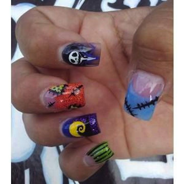 Friday the 13th - jason voorhees - nail art decals | makeup ...