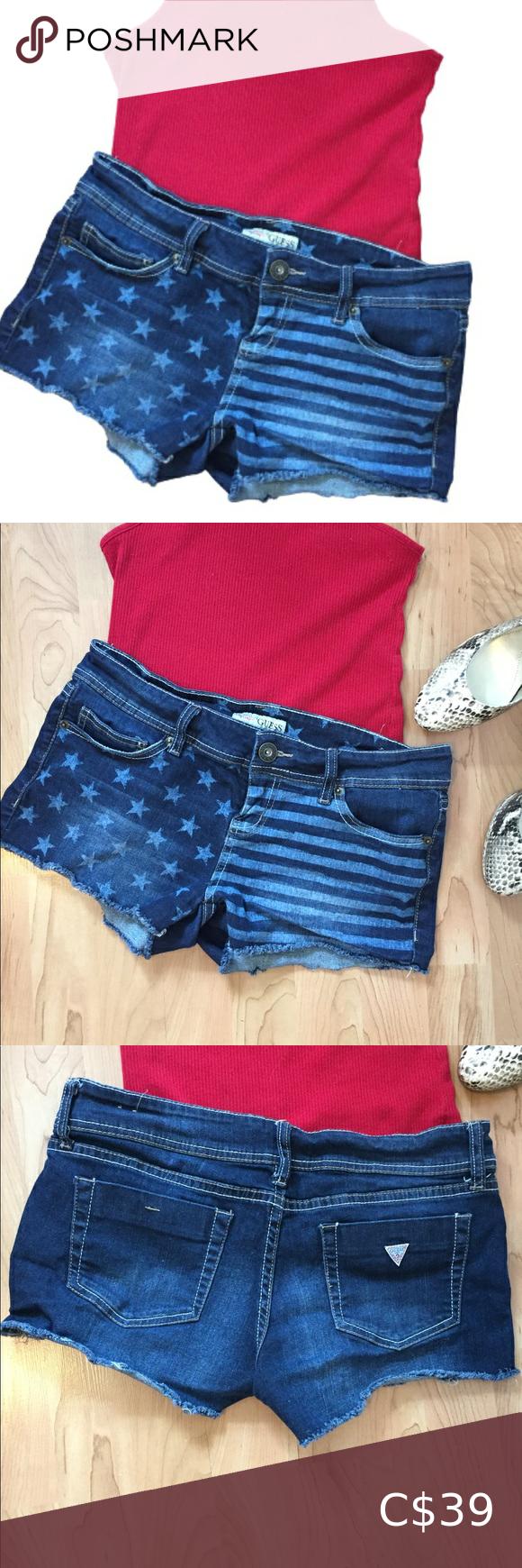 Guess Jeans Short Shorts