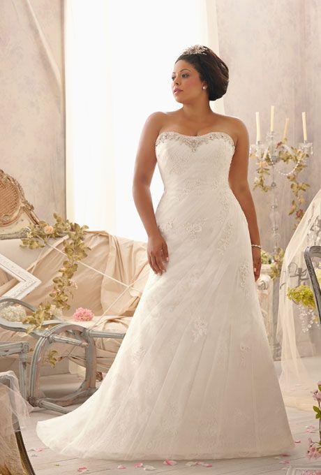 27 Designer Plus Size Wedding Dresses   Mori lee wedding dresses ...