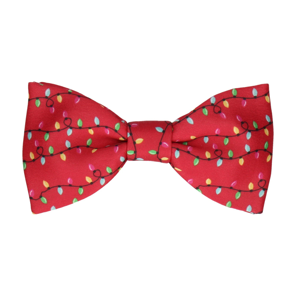 Red Christmas Lights Bow Tie Red Christmas Lights Christmas Lights Red Christmas
