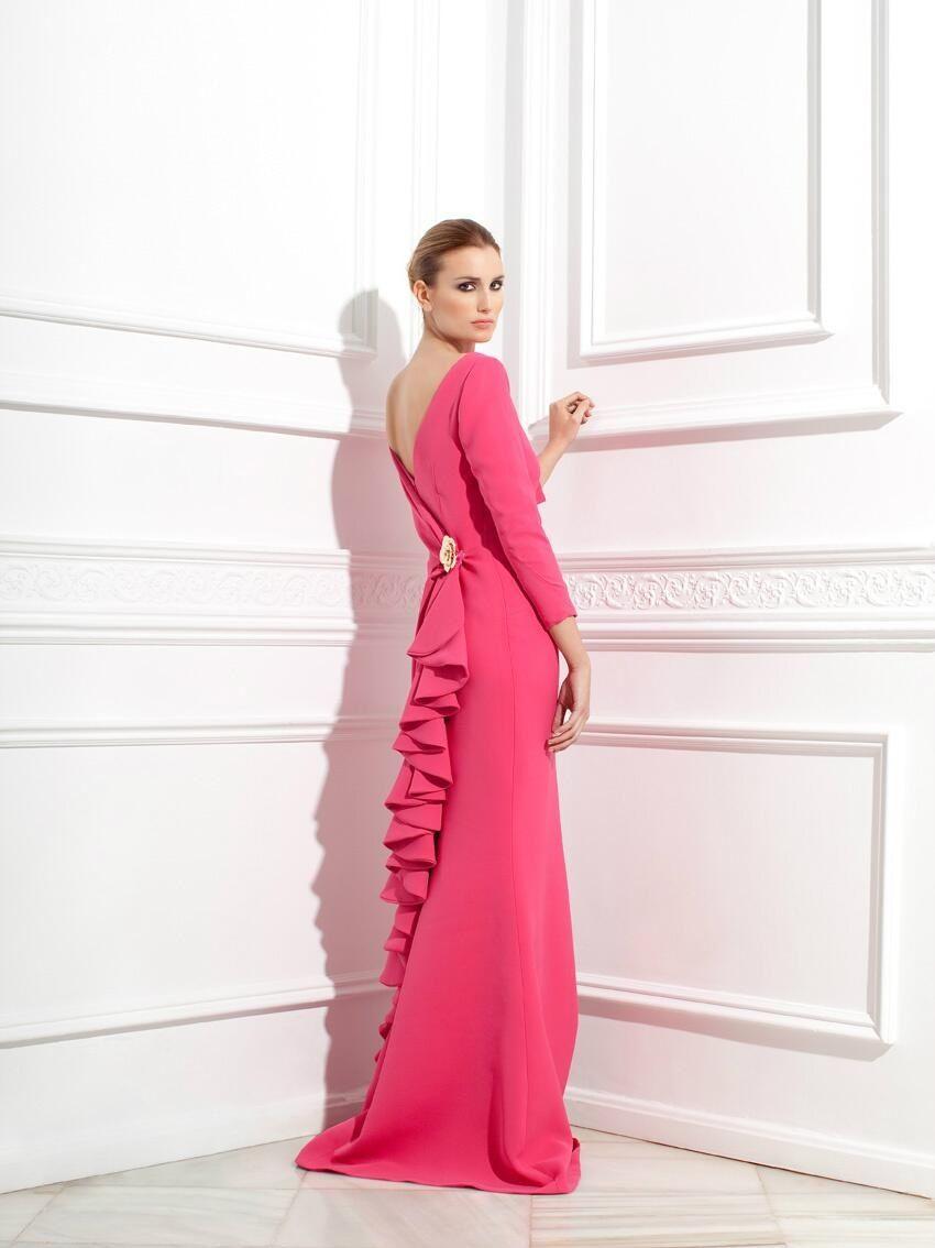 Vestido madrina | Mantillas | Pinterest | Trajes madrina, Vestidos ...