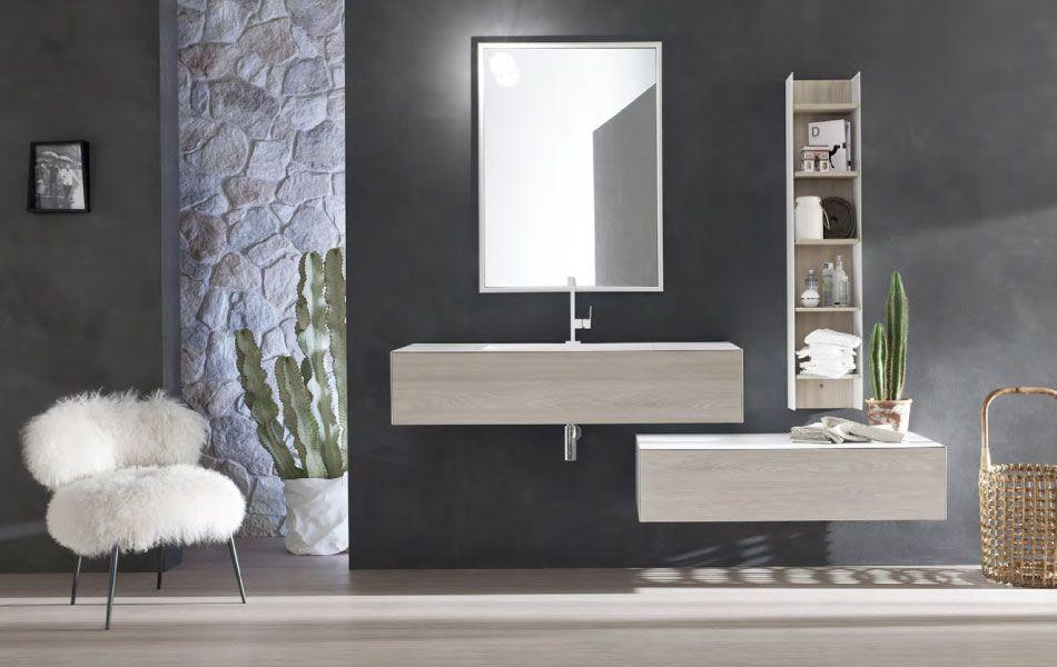 Brera base p lavabo cm tundra mobili bagno