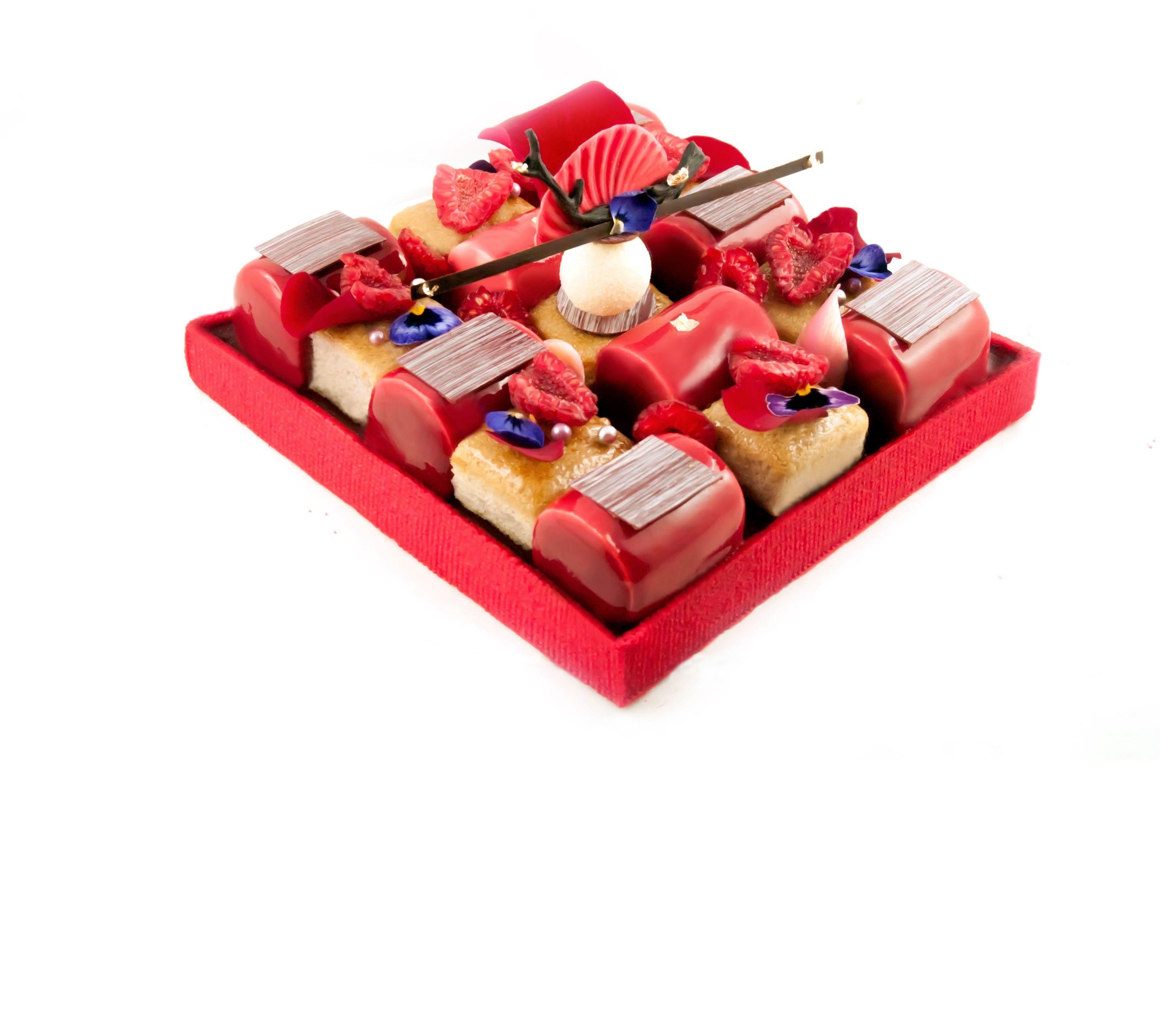 Tarte zen p te sabl e amande rouge cr me d 39 amande for Raspberry miroir