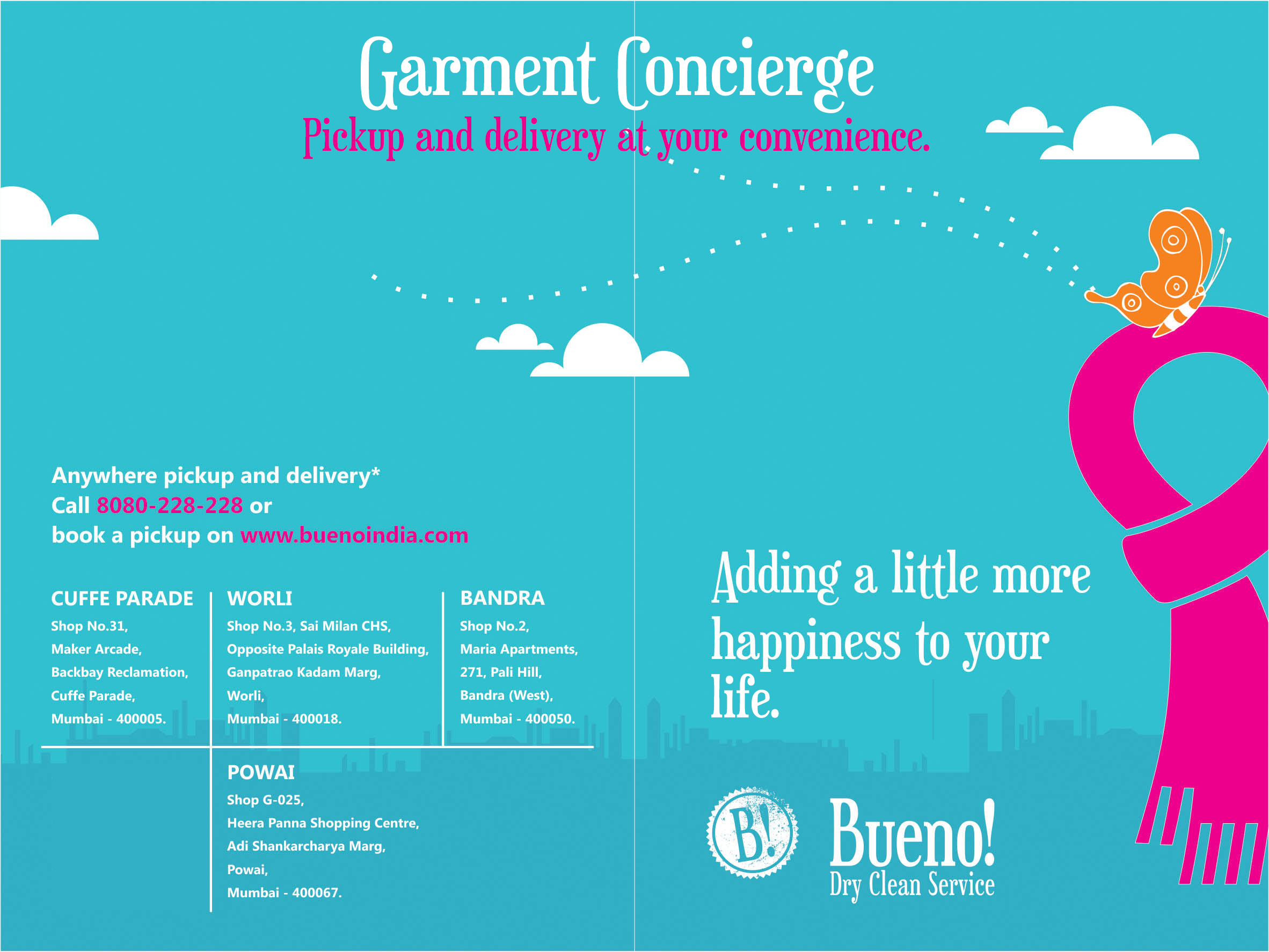 Bueno Garment Concierge Services Adding A Little More Happiness