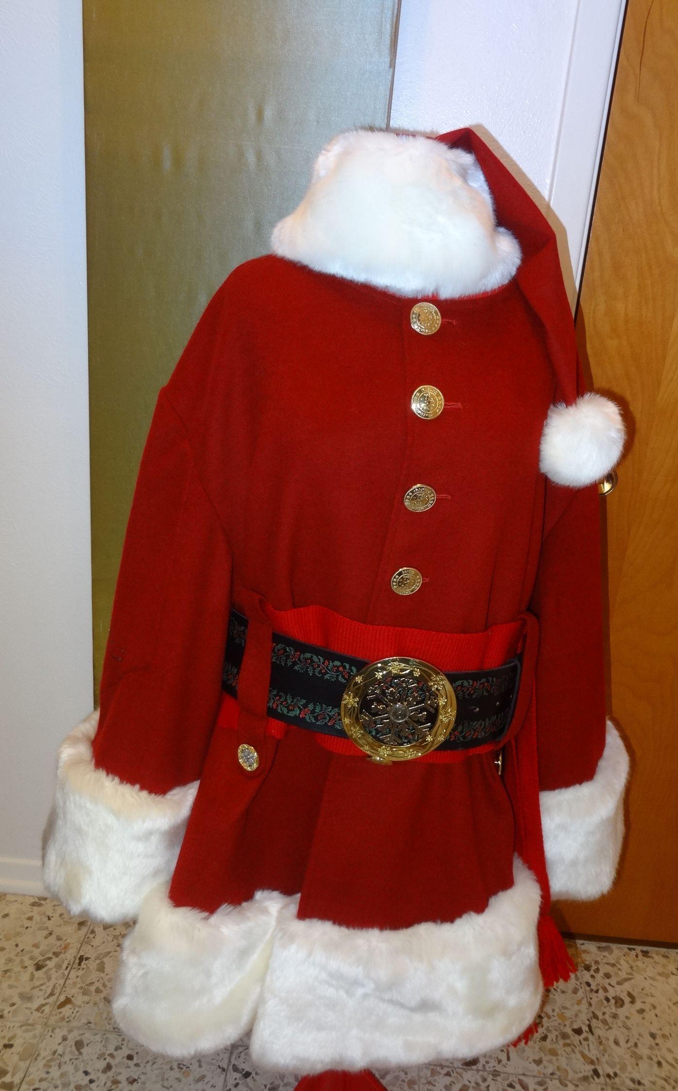 Variation On Cola Style Santa Jacket Custom Santa Suit Santa Suits Santa Claus Santa Photos