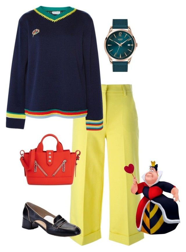 """""""Queen"""" by i-teddybear on Polyvore featuring Moncler, Mira Mikati, Kenzo and Henry London"""
