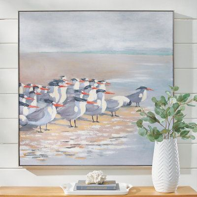 Flock of Gulls Wall Art | Grandin Road