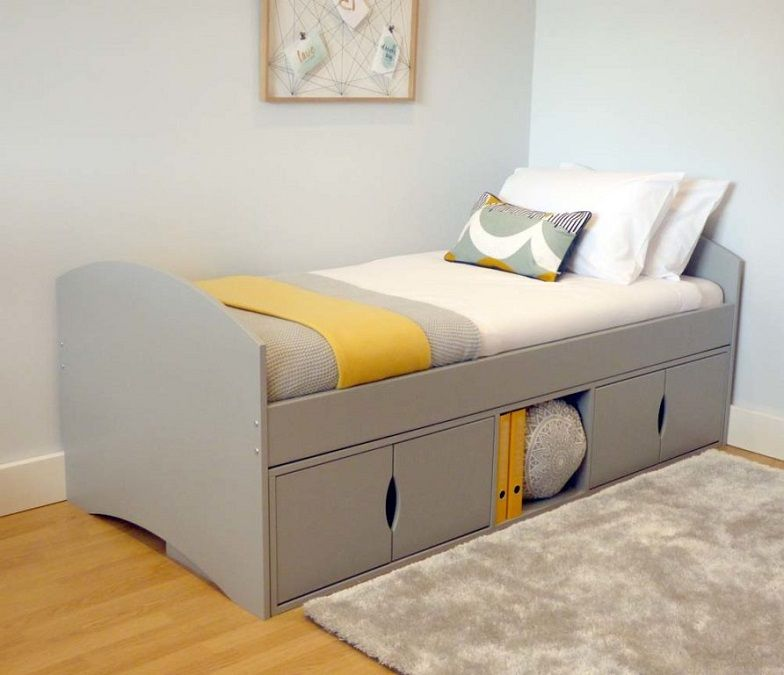 Childrens Single Bed With Storage