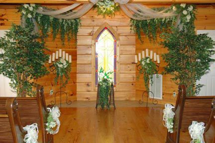 Wedding Chapel Decoration