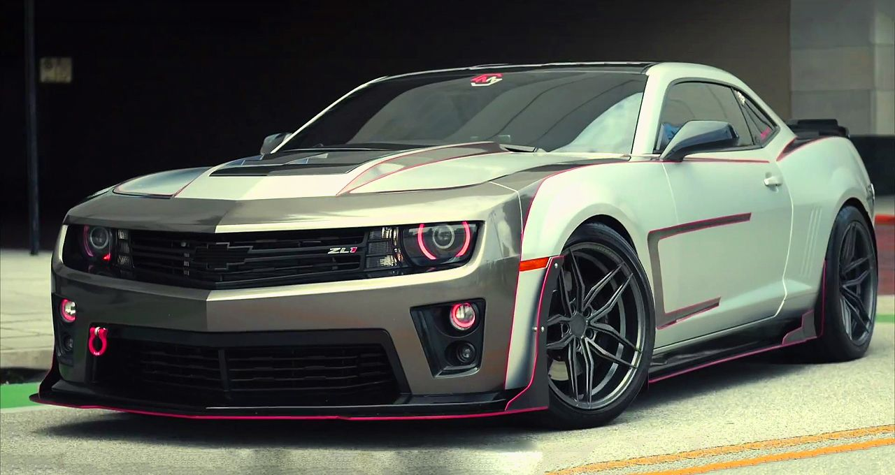Mind-Blowing & Modified 2015 Chevrolet Camaro ZL1. Find out more ...