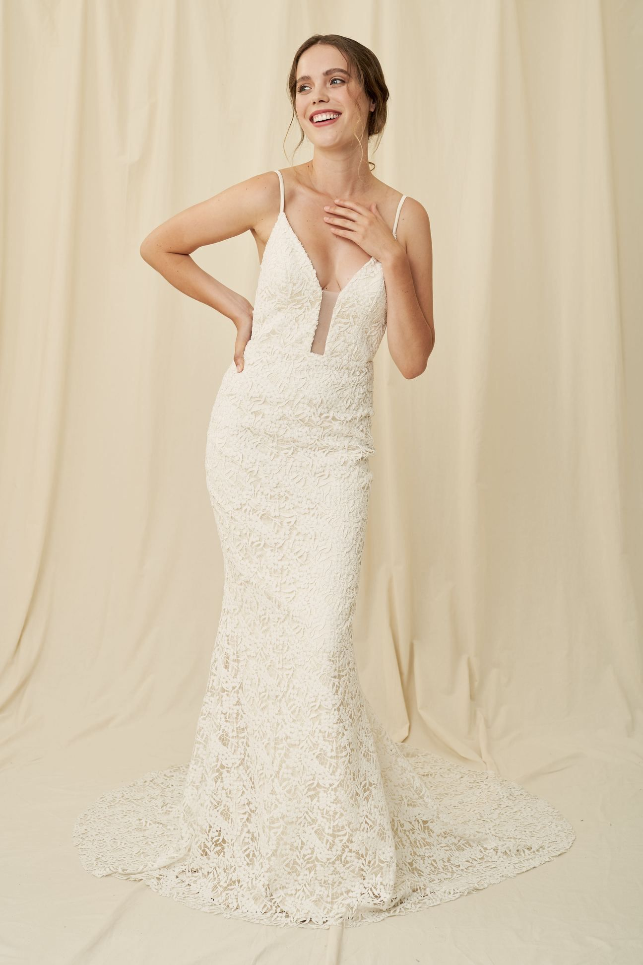 Rhodes Laudae A Botanical Lace Gown With Long Train Available In Vancouver Calgary Weddings Wedding Dress Shopping Wedding Gowns Mermaid Bridal Dresses,Mens Dress Attire For Wedding