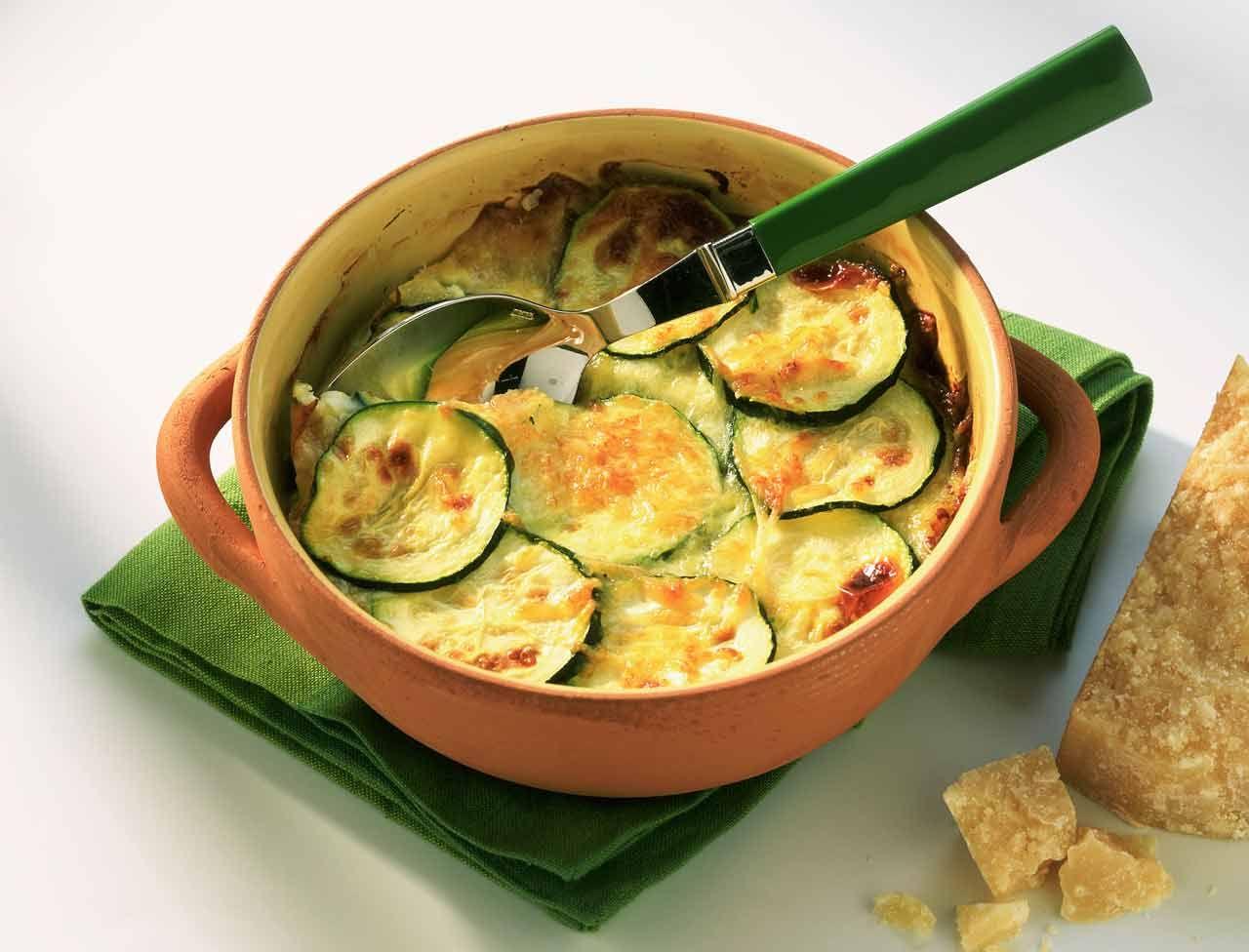 Les recettes minceur de val rie orsoni gratin courgettes - Recettes cuisine regime mediterraneen ...