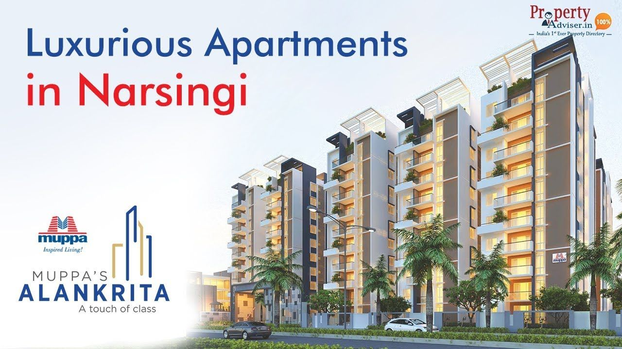 Muppas Alankrita Luxury Apartments Narsingi Hyderabad Gated Community Luxury Apartments Gated Community Apartment