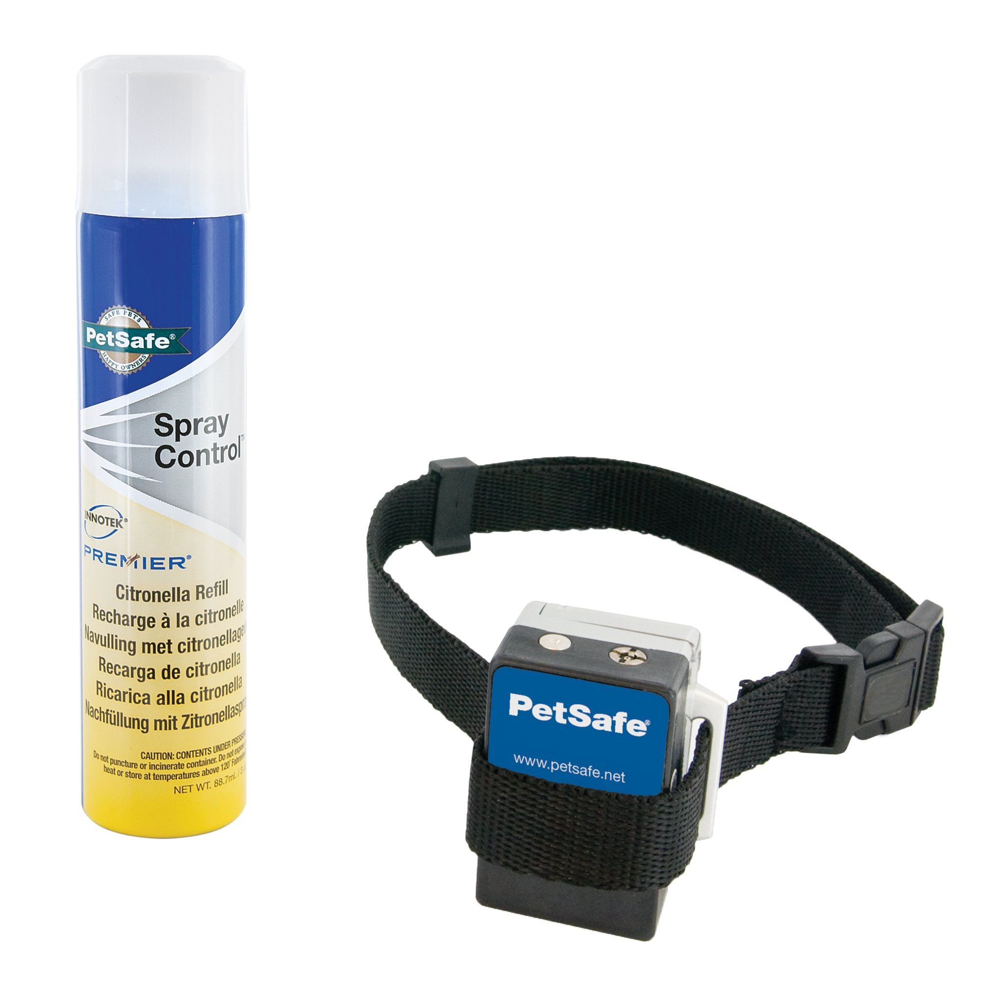 Petsafe Gentle Spray Bark Control Pet Training System Helps Stop Excessive Barking The Safe And Humane Way When Barking A Burs Pet Training Dog Spray Spray