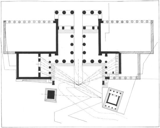 Classical Propylaea Floor Plan Note The Zig Zag Path Up The Colonnade Leading People Through The Building The T How To Plan Scenic Design Albanian Quote