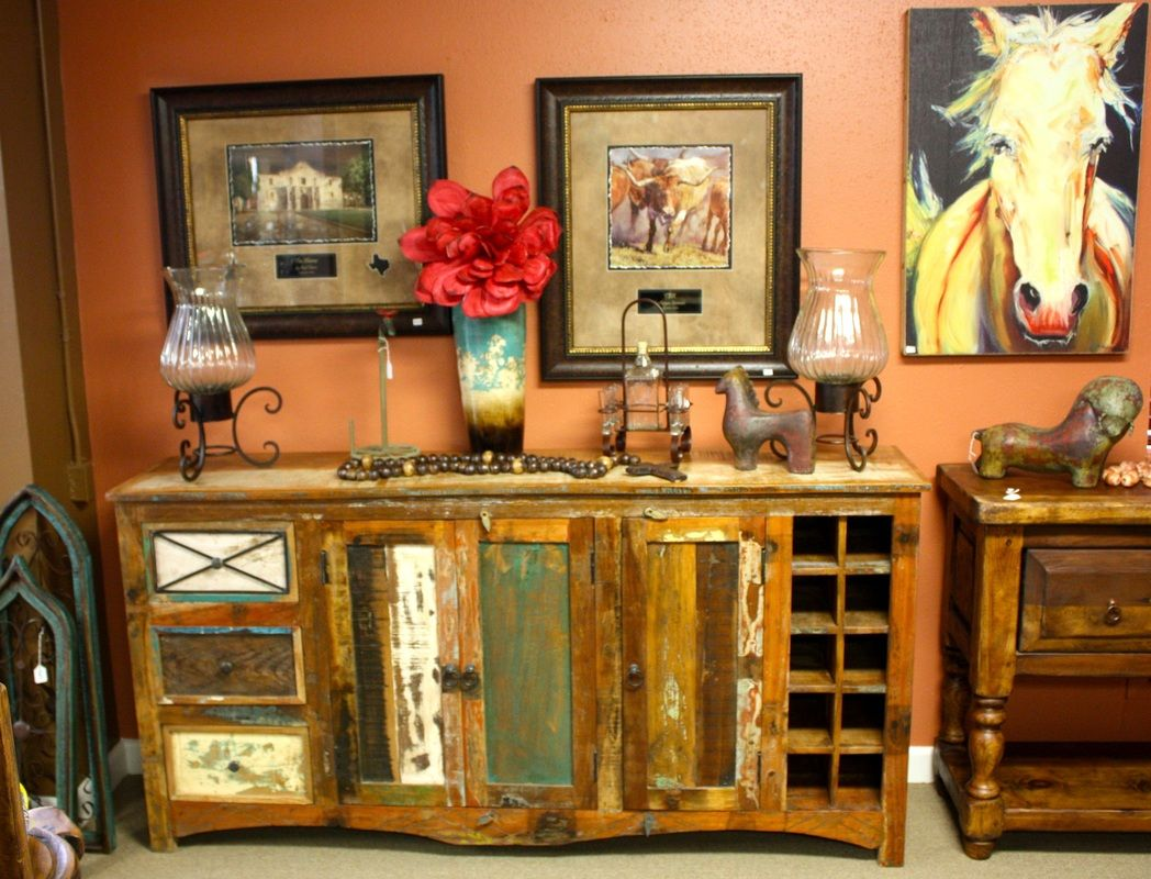 Solid Wood Furniture San Antonio | Reclaimed Teak Furniture | Agave Ranch     Curated By