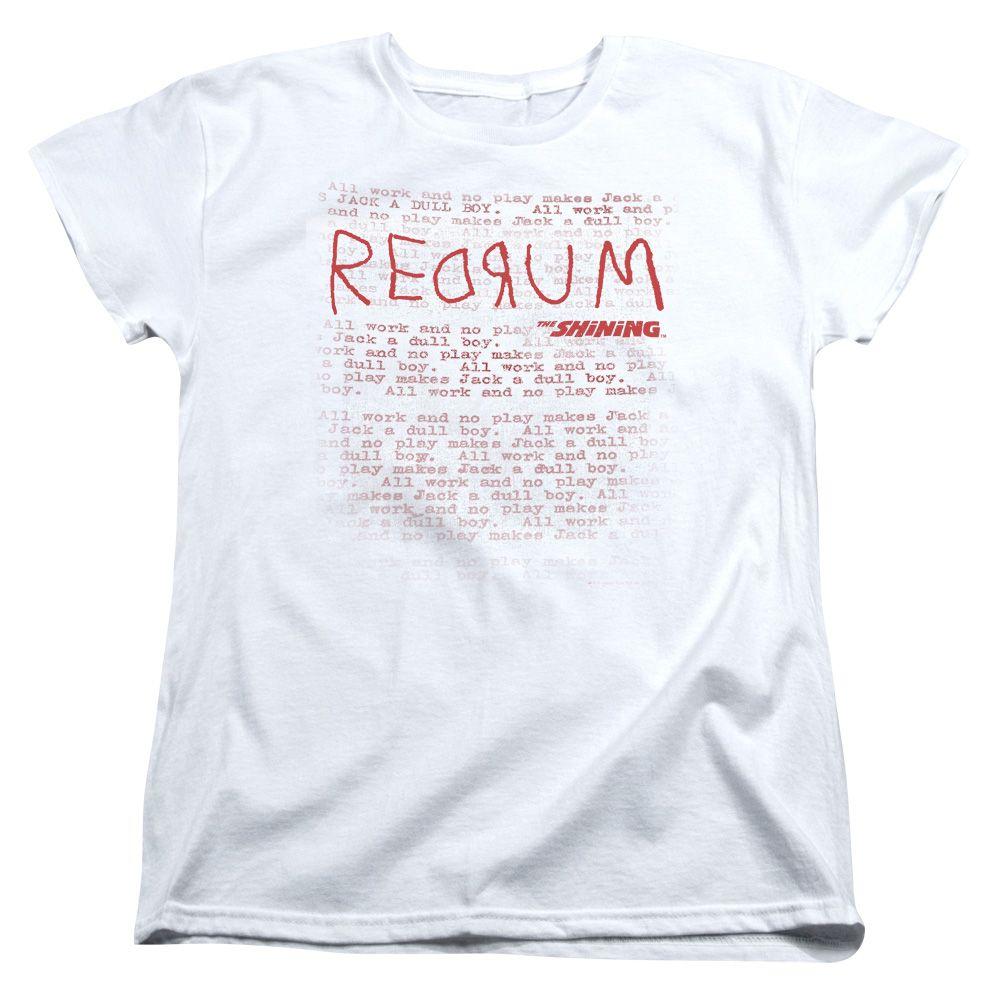 The Shining Redrum Women S T Shirt T Shirts For Women T Shirt