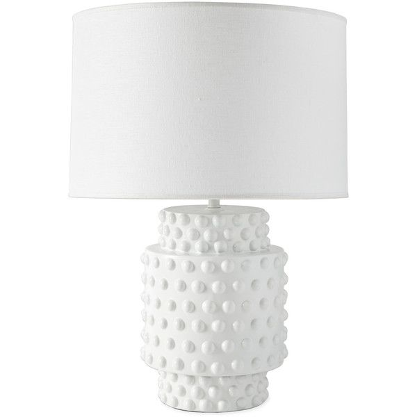Serena lily tinsley table lamp 458 via polyvore featuring home lighting