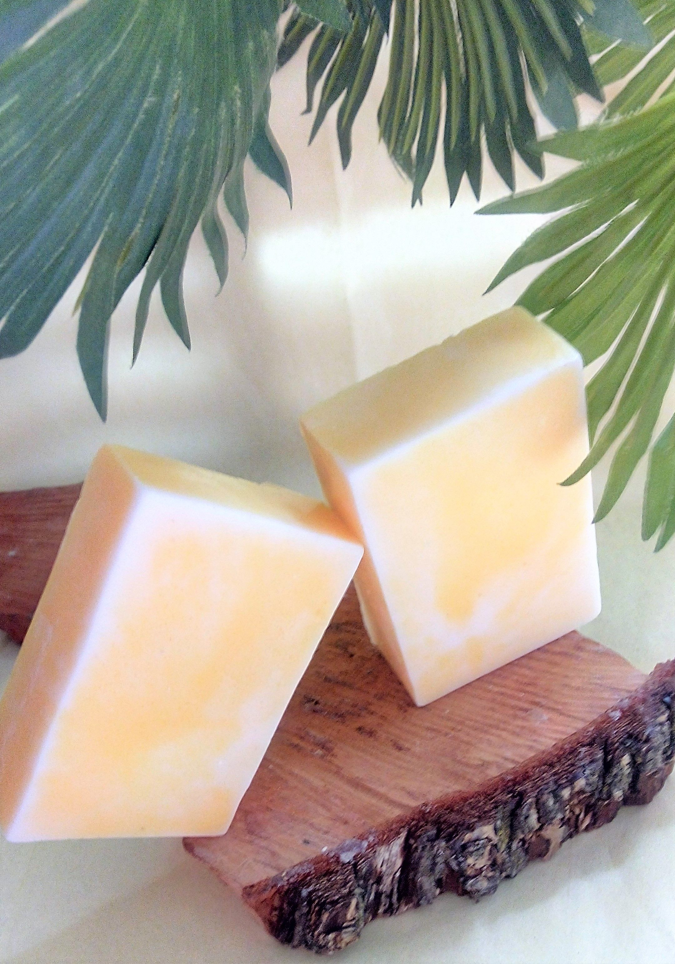 Bath & Body Handmade Glycerin Banana Soap