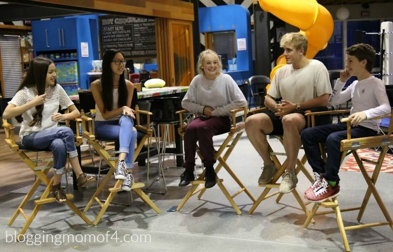 Have You Seen Disney Channel S Bizaardvark We Got To Chat With The Cast Including Jake Paul Creators And Tour The Set Take Disney Channel It Cast Jake Paul