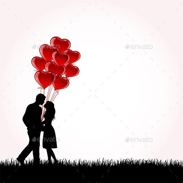 Download Couple with Balloons   Fotos dia dos namorados, Casamento ...
