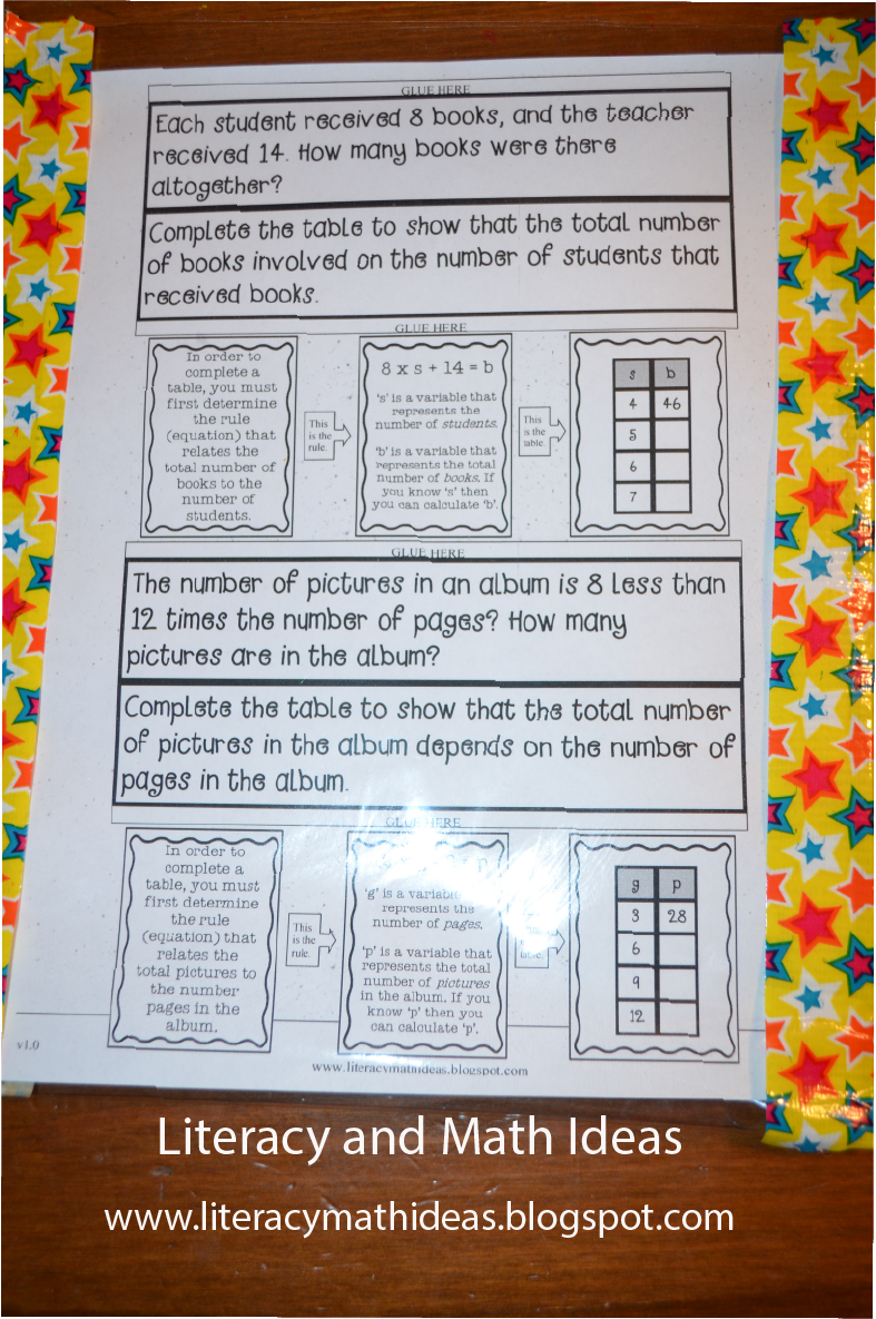 I bought a set of these reusable dry erase worksheet covers. This is ...