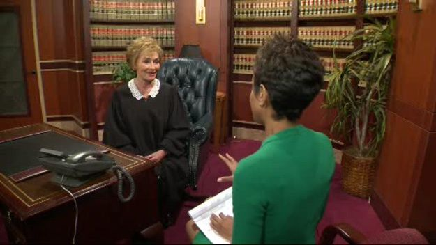 Cbs Miami S Irika Sargent Goes One On One With Judge Judy Judge Judy