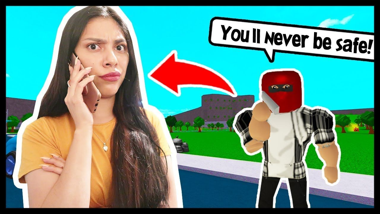 I Called My Stalker To Get The Truth Roblox Bloxburg