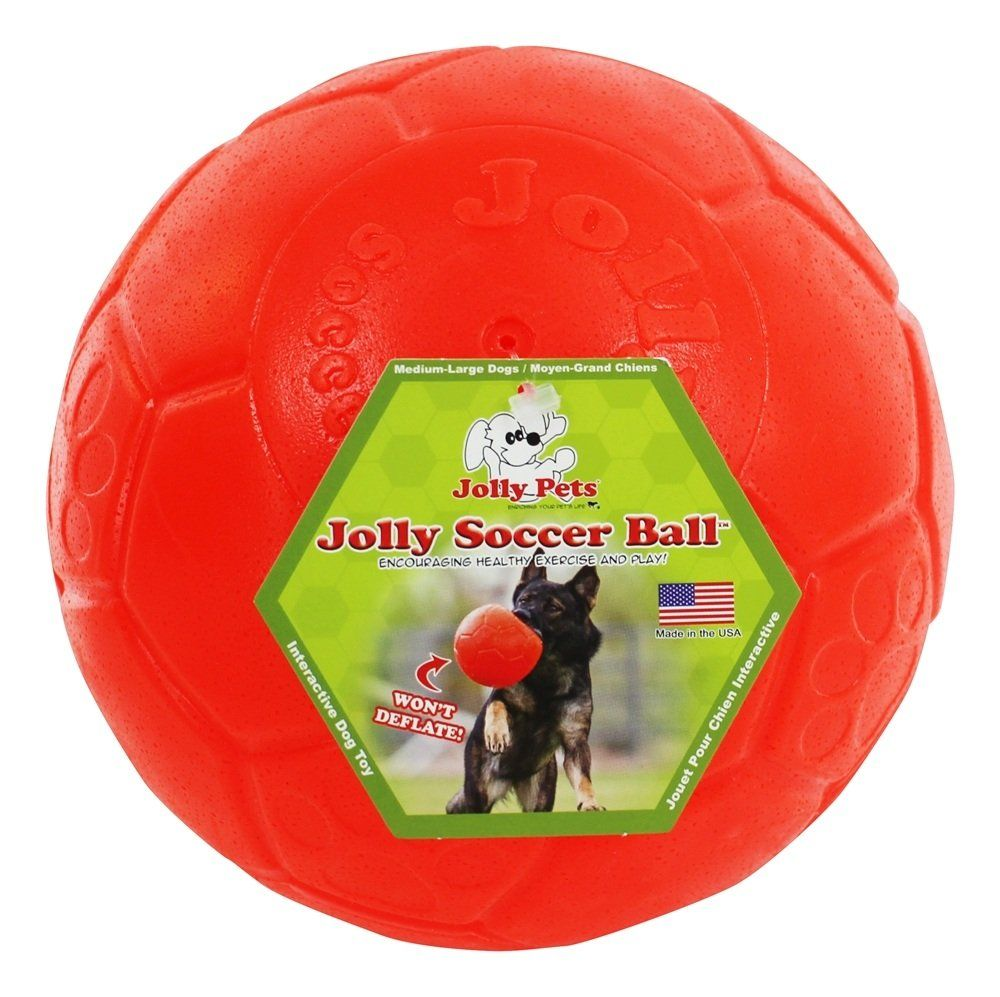 Jolly Pets Jolly Soccer Ball Dog Toy ** Read more reviews