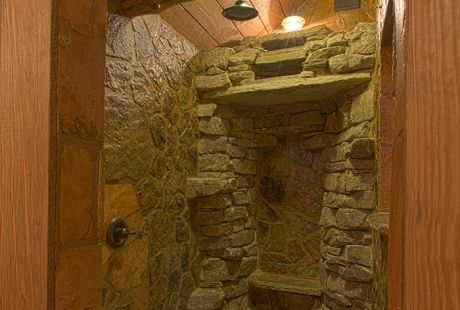 Rock Waterfall Shower