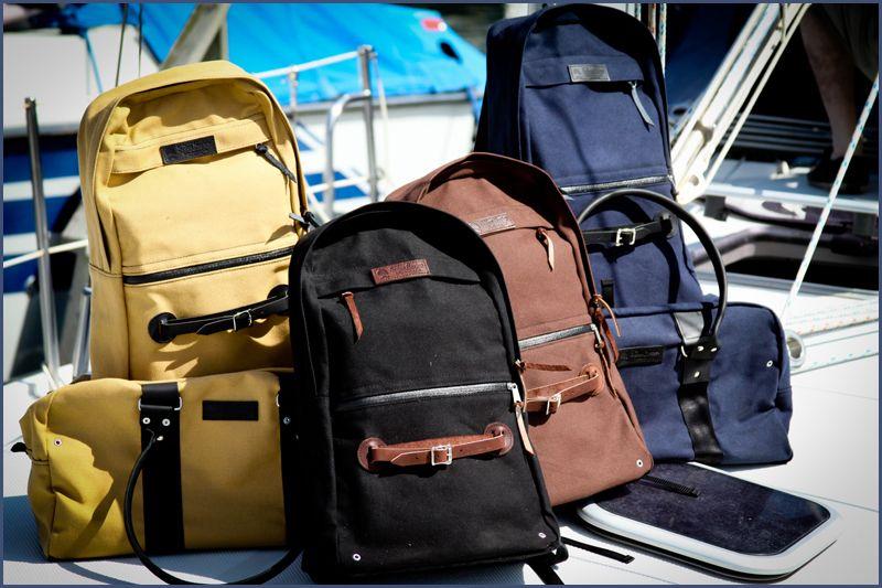 Wheelmen & Co. bags, made in the U.S.A.
