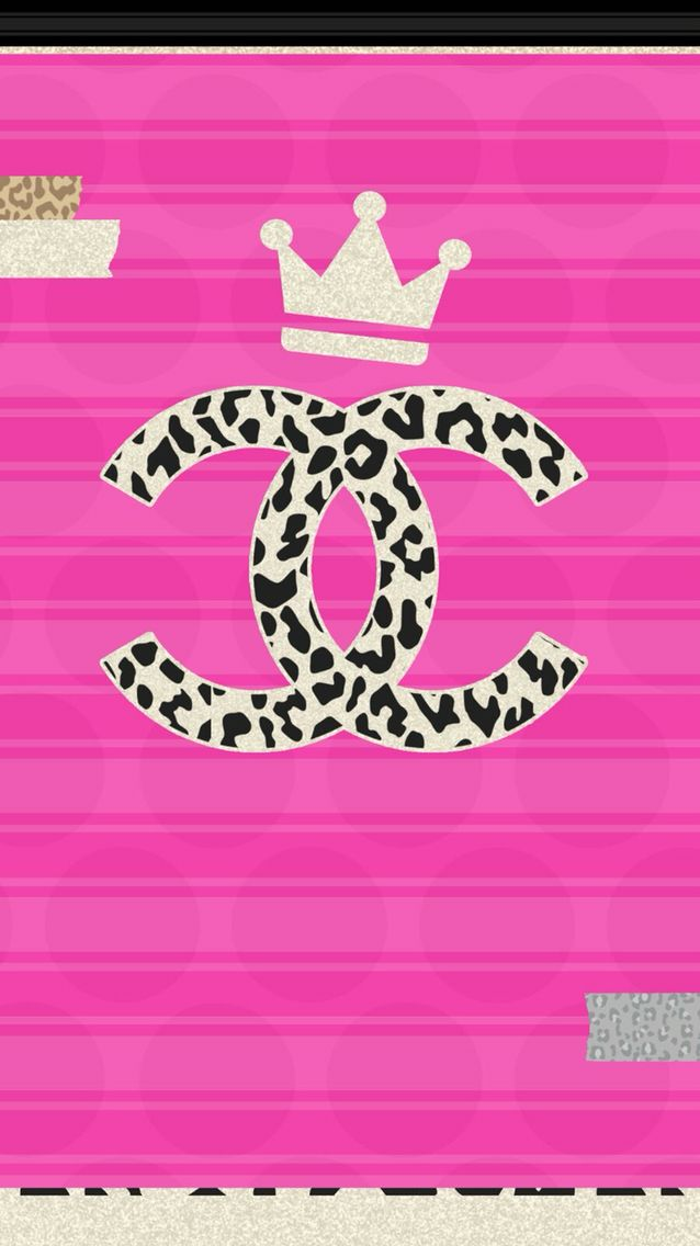 This Is A Theme Wallpaper Set Called Trap Queen 1of 7 Pretty Wallpapers Chanel Wallpapers Cellphone Wallpaper