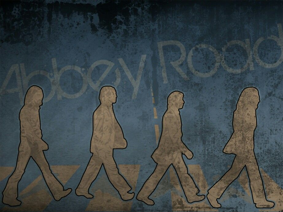 The Beatles Wallpaper Abbey Road