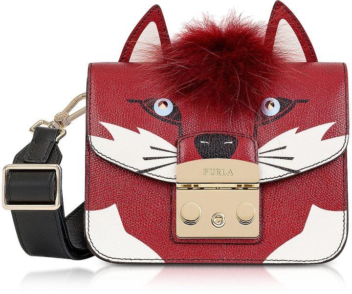 3c788f8b6c07 Furla Metropolis Jungle Fox Mini Crossbody Bag