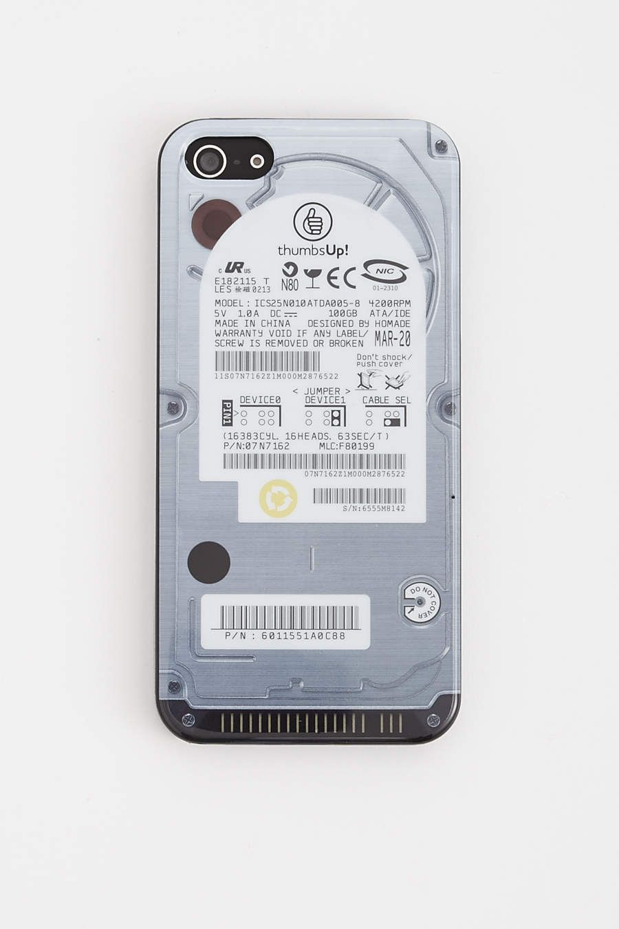 huge selection of e78d1 793e7 iPhone 5 Hard Drive Case | Gear for Guys | Phone cases, Phone ...