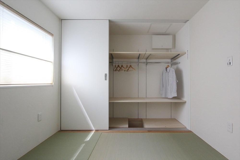 天井高2 200mm 狭小住宅 床下収納 住宅リフォーム
