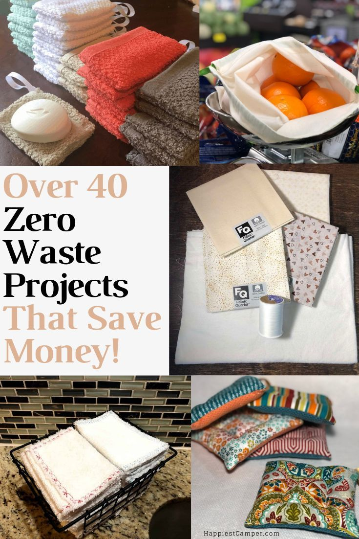 40+ Easy Zero Waste Projects for the Home