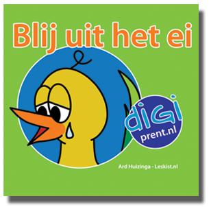 Blij uit het ei (Uitdeelboekje) - http://onderwijsstudio.nl/product-categorie/digiprentserie/miniboekjes/