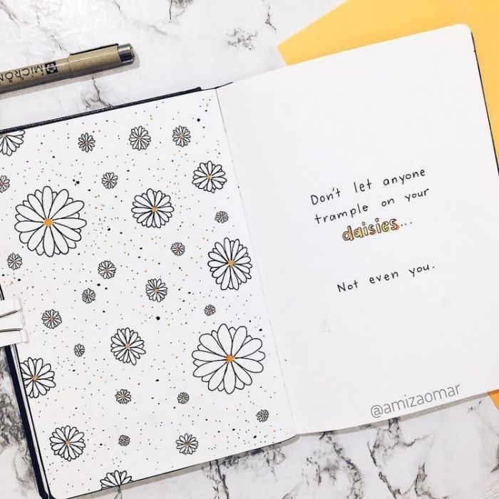 Photo of 30 ideas de páginas con frases | Bullet Journal