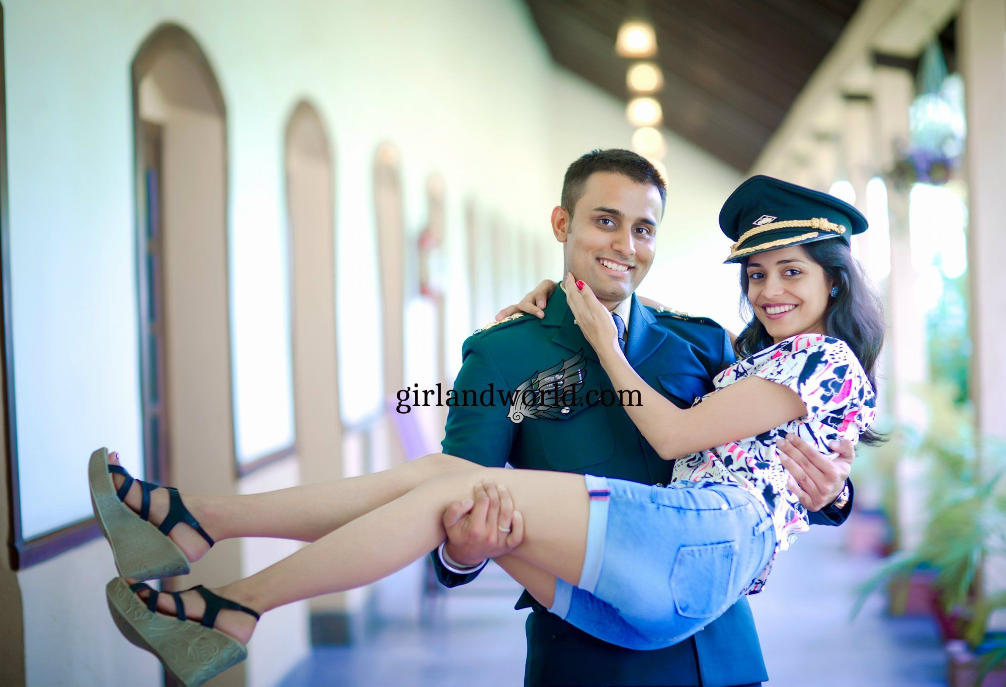 indian army officer girlfriend